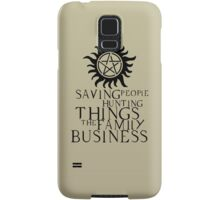 Family business Samsung Galaxy Case/Skin