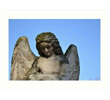 Weathered Angel Art Print