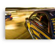 The Fast and the Furiously Fast ! Canvas Print