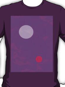 Minimalism Electric Purple T-Shirt