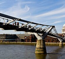 The Millenium Bridge by DavidHornchurch