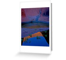 Reflections In The Billabong Greeting Card