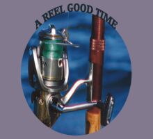 <º))))>< A REEL GOOD TIME FISHERMANS TEE SHIRT<º))))><      by ╰⊰✿ℒᵒᶹᵉ Bonita✿⊱╮ Lalonde✿⊱╮