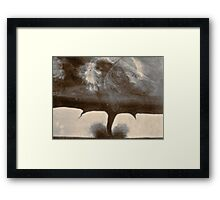 The Awesome and The Awful Framed Print