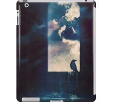 the view from the tower iPad Case/Skin
