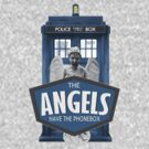 Doctor Who Inspired - Weeping Angels - The Angels Have the Phonebox - Don't Blink by traciv