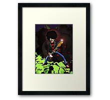 Phil Lynott of Thin Lizzy Framed Print