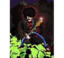 Phil Lynott of Thin Lizzy Photographic Print
