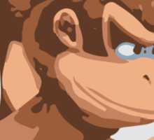 Minimalist Donkey Kong from Super Smash Bros. Brawl Sticker