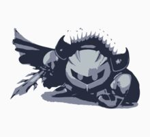 Minimalist Meta Knight from Super Smash Bros. Brawl by Himehimine