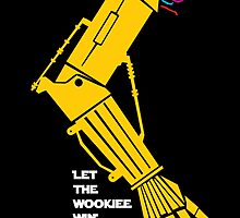 Let the Wookiee win! by thekremlin