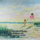 Mommy and Me at the Beach- Colossians 1:10 by Janis Lee Colon