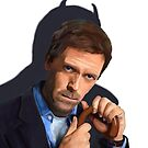 Hugh Laurie as House  by Glenn Slingsby