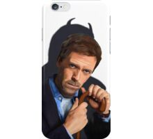 Hugh Laurie as House  iPhone Case/Skin