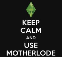 Sims (Keep Calm and Use Motherlode) by TOH5