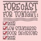Beer Forecast - Color-changing v3.0 by Ten Ton Tees