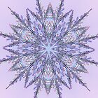 Lavender Snowflake  by Tori Snow