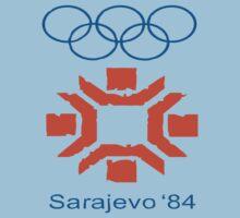 sarajevo 1984 by mojokumanovo