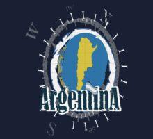 Argentina Globe by mojokumanovo