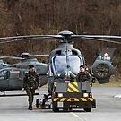 Swiss Air Force Eurocopter EC635 by AntonyMeadley