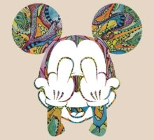 Mickey Hippie Head III by JohnnySilva