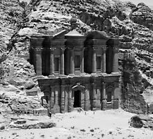Monastery of Petra by Erny1974