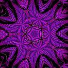 Mean Purple Fractal by FloraDiabla
