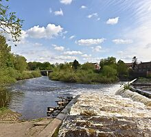 The Weir @ Boroughbridge by John (Mike)  Dobson