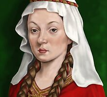 Matilda, Lady Of The English by marksatchwillart