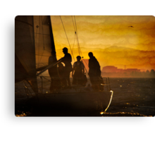 Evening Rites Canvas Print
