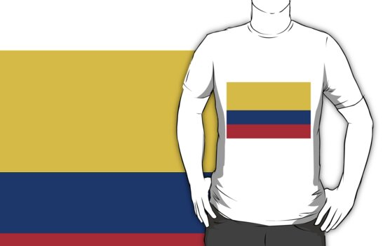 Colombia Flag by cadellin