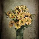 Still Life #16 - Vase of Chrysanthemum by Malcolm Heberle