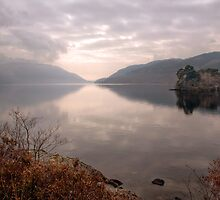 Looking Down Loch Lomond by Christine Smith
