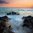 Rocky Cove Sunset by DawsonImages