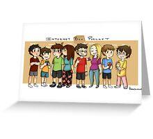 Internet Box Crew :) Greeting Card