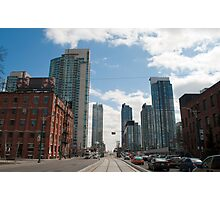 Looking Down Spadina From Wellington Photographic Print