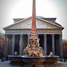 Pantheon &amp; Fontana, Piazza della Rotonda, Roma, Italia by outspoken82