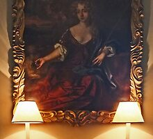 Portrait of a Courtesan with Nice Lamps by Yampimon