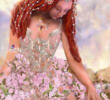 Bejeweled Flower Queen by arlenedelahenty