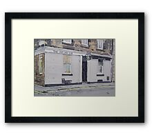 Oxford Bar (Rebus's pub) Framed Print