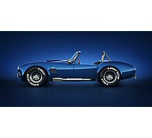 Shelby Cobra 427 - Water Snake Photographic Print