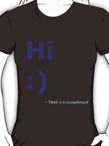 Hi :) (Blue) T-Shirt