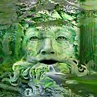 The green man'... by Valerie Anne Kelly