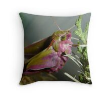 Minutes old, the midwife was late! Throw Pillow