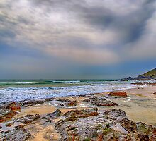 Church Cove Beach Gunwalloe 2 by Chris Thaxter