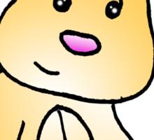 Brown Bunny Rabbit Sticker