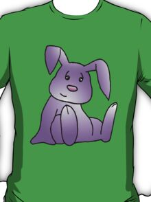 Magenta Bunny Rabbit T-Shirt