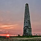 Cosway Monument At Sunset by Dave Godden
