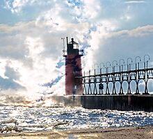 South Haven Lighthouse by cherylc1