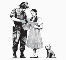 Dorothy Wizard of Oz Banksy by crawford93